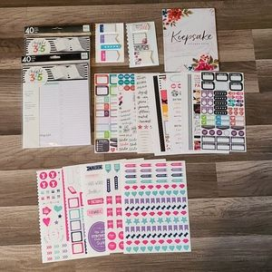 Happy planner supplies